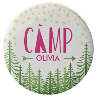 Glamping Party Chocolate Dipped Oreo