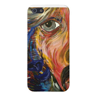 Glam's Alter Ego Painting by D.E. La Rue iPhone SE/5/5s Cover