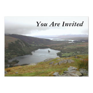 Glanmore Lake from Healy Pass Ireland. 5x7 Paper Invitation Card