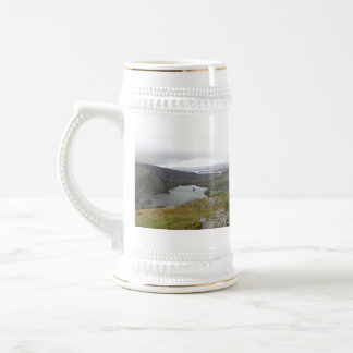 Glanmore Lake from Healy Pass Ireland. Beer Stein