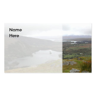 Glanmore Lake from Healy Pass Ireland. Double-Sided Standard Business Cards (Pack Of 100)