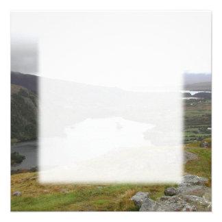 Glanmore Lake from Healy Pass Ireland. Custom Invite