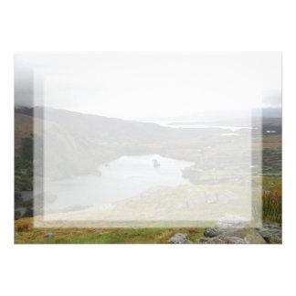 Glanmore Lake from Healy Pass Ireland. Custom Invites
