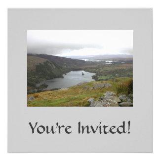 Glanmore Lake from Healy Pass Ireland. Custom Announcement