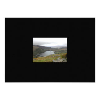 Glanmore Lake from Healy Pass Ireland. Personalized Invitations