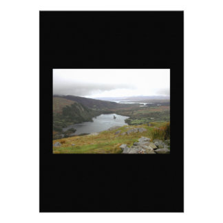Glanmore Lake from Healy Pass Ireland. Invite