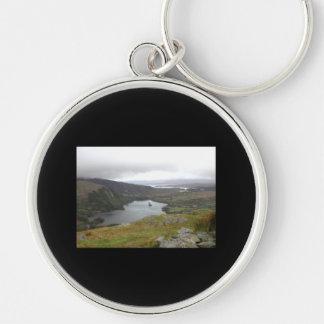 Glanmore Lake from Healy Pass Ireland Keychain