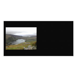 Glanmore Lake from Healy Pass Ireland. Photo Greeting Card