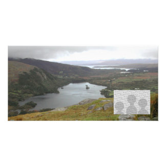Glanmore Lake from Healy Pass Ireland. Picture Card