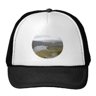 Glanmore Lake from Healy Pass Ireland. Round. Trucker Hat