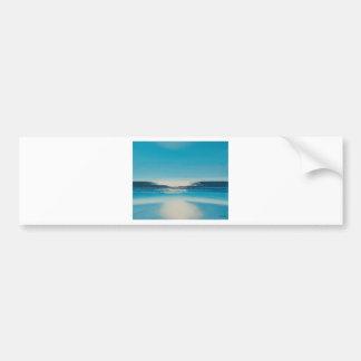 Glare. Bumper Sticker