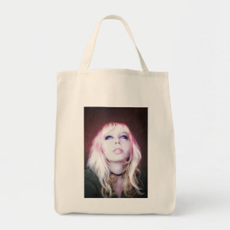 Glare cool beautiful classic oil portrait painting tote bags