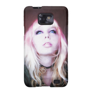 Glare cool beautiful classic oil portrait painting galaxy SII case