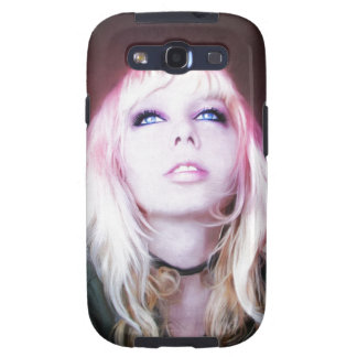 Glare cool beautiful classic oil portrait painting galaxy SIII case