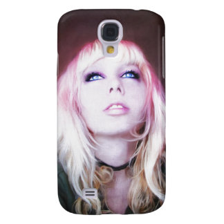 Glare cool beautiful classic oil portrait painting samsung galaxy s4 cover