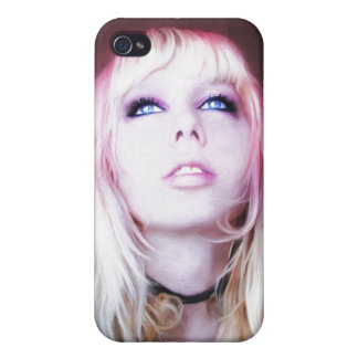 Glare cool beautiful classic oil portrait painting iPhone 4/4S case