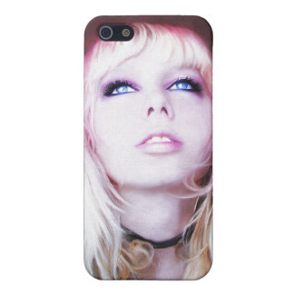 Glare cool beautiful classic oil portrait painting case for iPhone 5