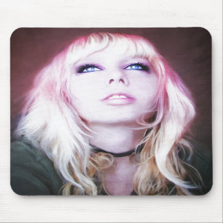 Glare cool beautiful classic oil portrait painting mouse pad