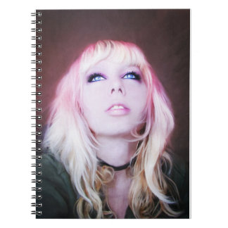 Glare cool beautiful classic oil portrait painting notebooks