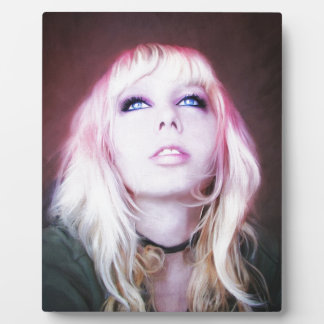 Glare cool beautiful classic oil portrait painting plaques