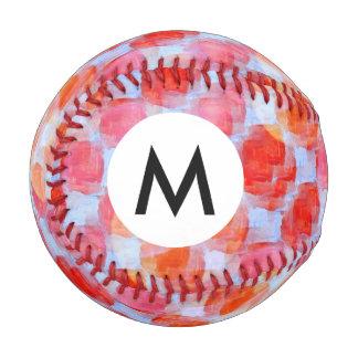 Glare from design texture background baseball