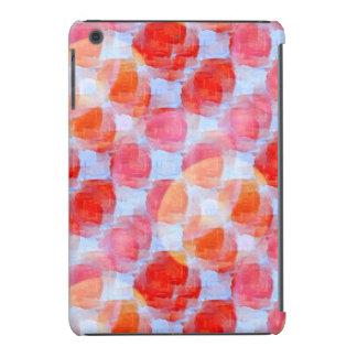 Glare from design texture background iPad mini case