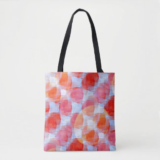 Glare from design texture background tote bag