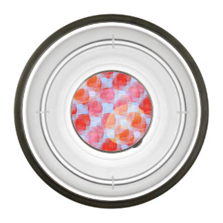 Glare from design texture background pet bowl