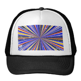 Glare Rays Background Trucker Hat