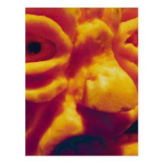 Glaring Gourd Postcard