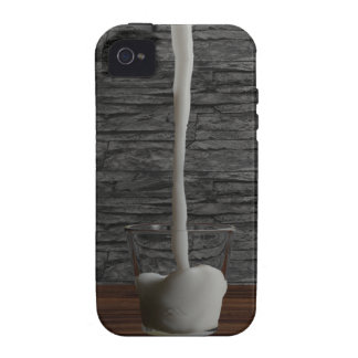 Glas de la leche iPhone 4/4S carcasa
