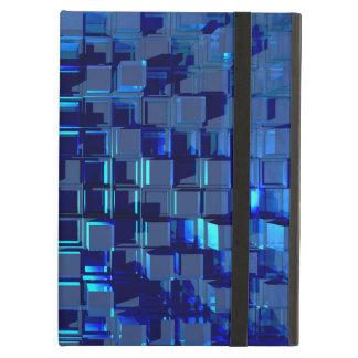 Glas-Mosaik azul