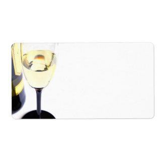 glas_wine custom shipping label