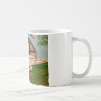 Glasair Classic White Coffee Mug