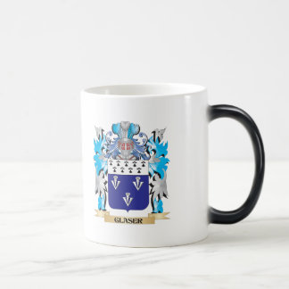 Glaser Coat of Arms - Family Crest 11 Oz Magic Heat Color-Changing Coffee Mug