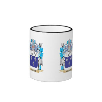 Glaser Coat of Arms - Family Crest Ringer Coffee Mug
