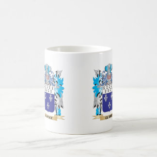 Glaser Coat of Arms - Family Crest Classic White Coffee Mug