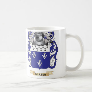 Glaser Coat of Arms (Family Crest) Classic White Coffee Mug