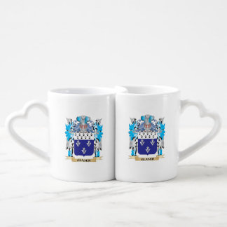 Glaser Coat of Arms - Family Crest Couples' Coffee Mug Set
