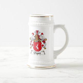 Glaser Family Crest 18 Oz Beer Stein