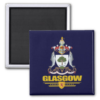 Glasgow 2 Inch Square Magnet