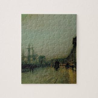 Glasgow cauta de Juan Atkinson Grimshaw Puzzle