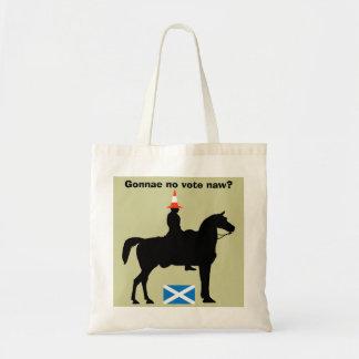 Glasgow Duke of Wellington Don't Say Naw Tote Bag