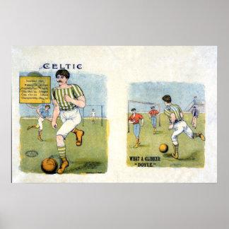 Glasgow FC céltico, 1894 Posters