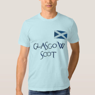 Glasgow FLAG OF SCOTLAND Patriotic T-Shirt