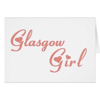 Glasgow Girl Card