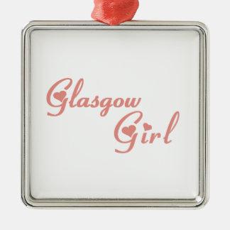 Glasgow Girl Metal Ornament