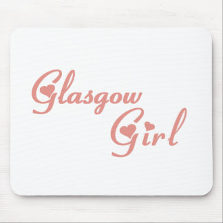 Glasgow Girl Mouse Pad