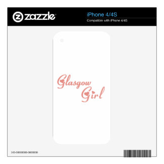 Glasgow Girl Skins For iPhone 4S