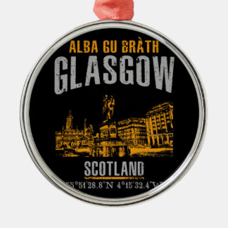 Glasgow Metal Ornament